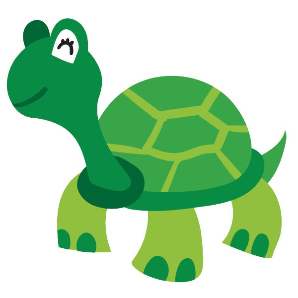 Avatar of a cartoon turtle representing customer service representative Tiffiny